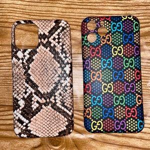 Luxury designer iPhone 11 Pro phone cases